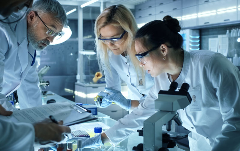 Scientists working to discover new therapies